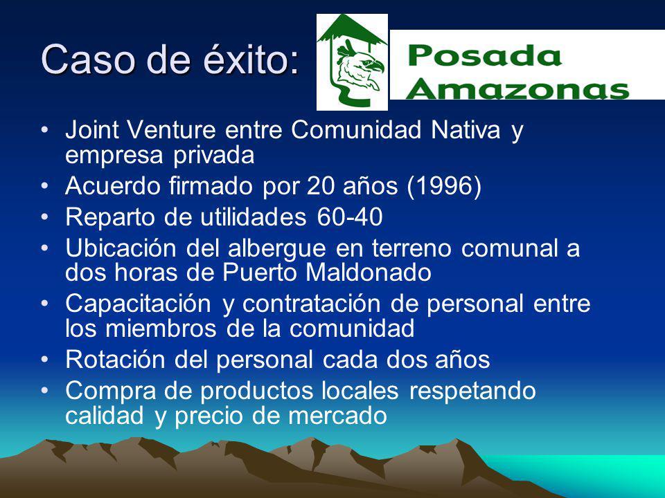 Caso de éxito: Joint Venture entre Comunidad Nativa y empresa privada