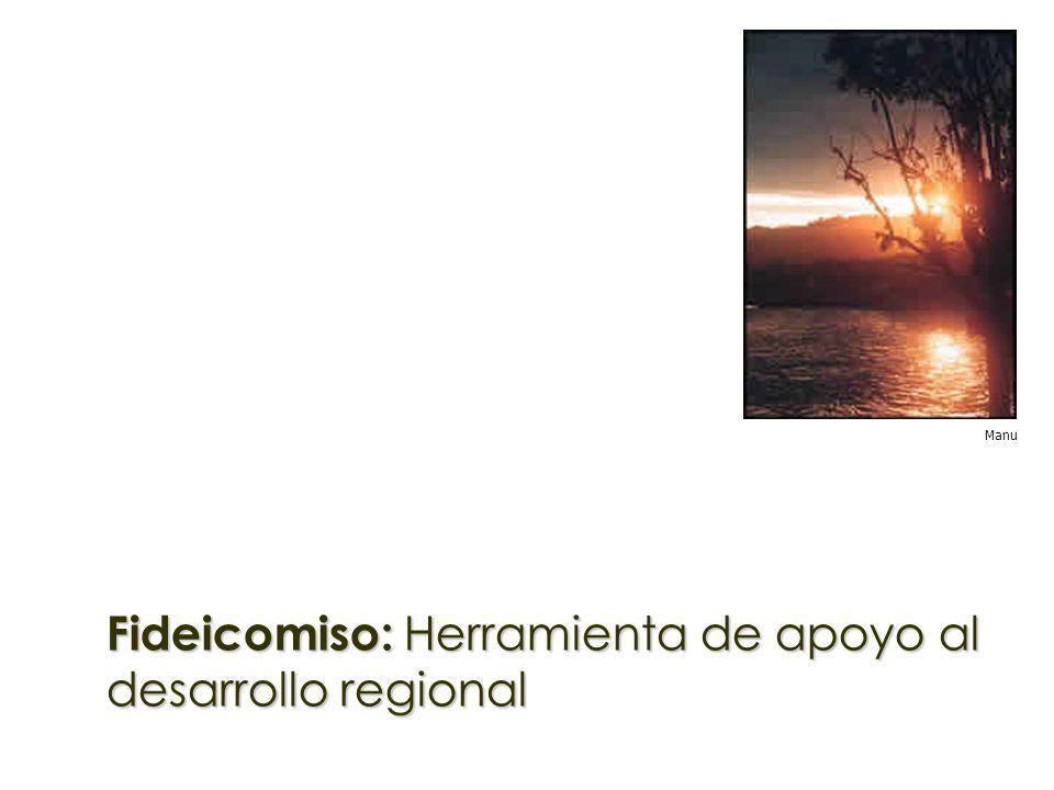Fideicomiso: Herramienta de apoyo al desarrollo regional