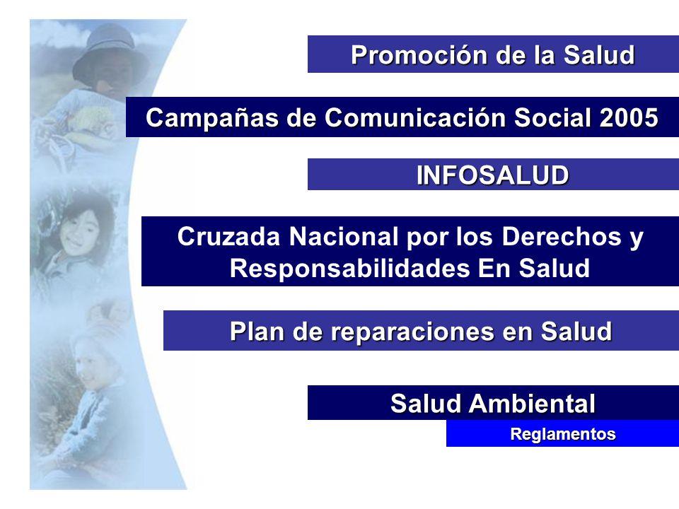 Campañas de Comunicación Social 2005