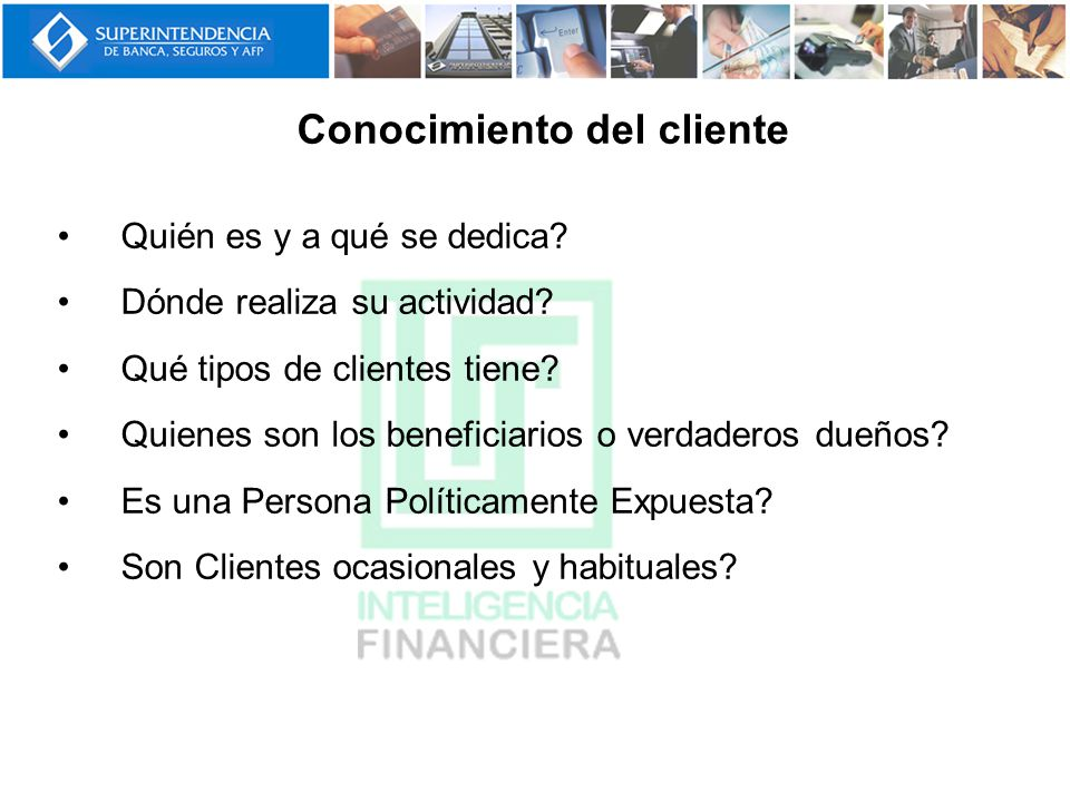 Conocimiento del cliente