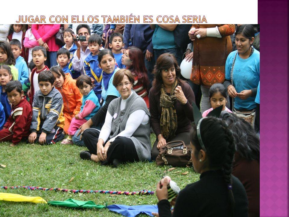 JUGAR CON ELLOS TAMBIÉN ES COSA SERIA