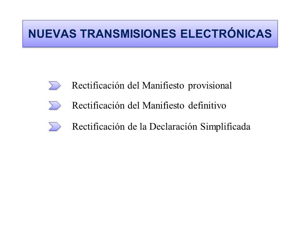 NUEVAS TRANSMISIONES ELECTRÓNICAS