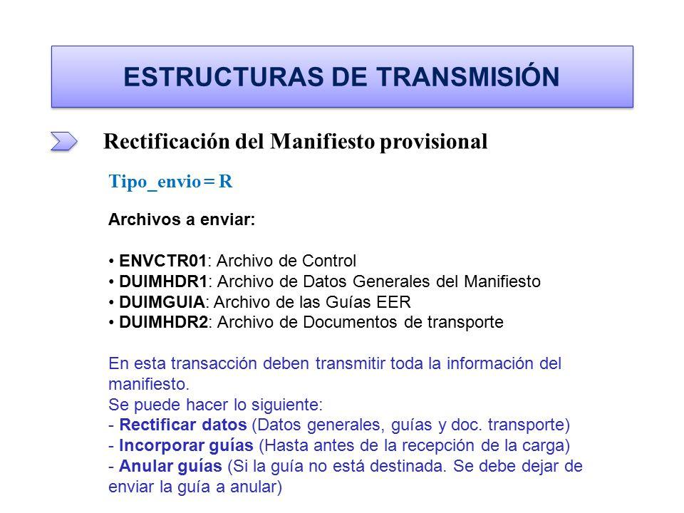 ESTRUCTURAS DE TRANSMISIÓN
