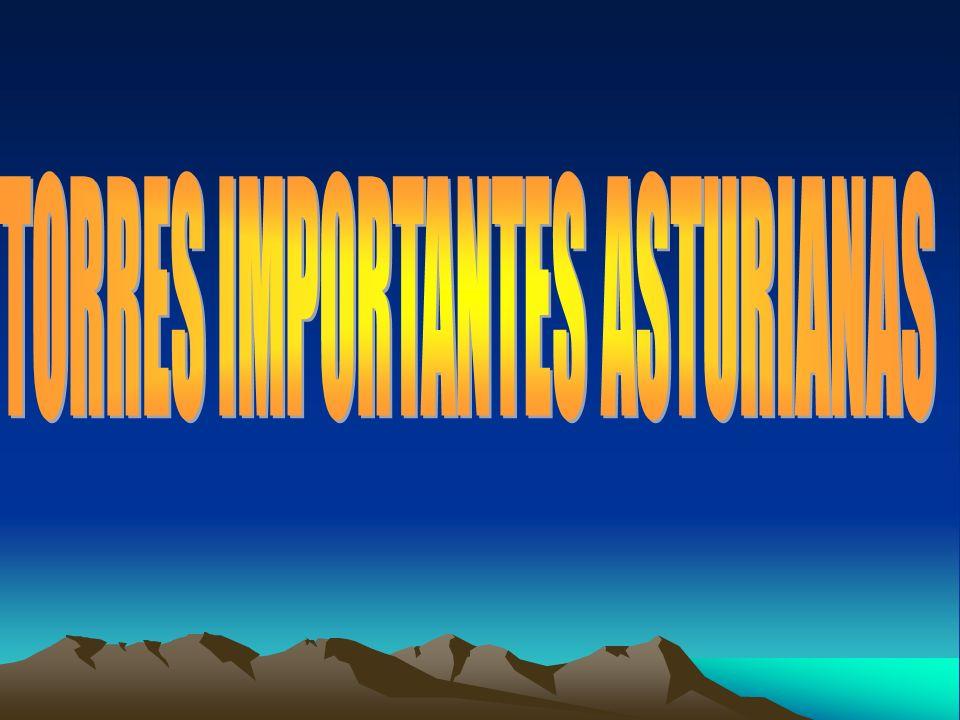 TORRES IMPORTANTES ASTURIANAS