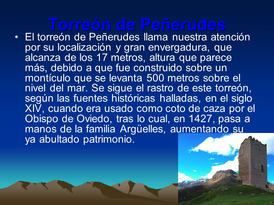 Torreón de Peñerudes
