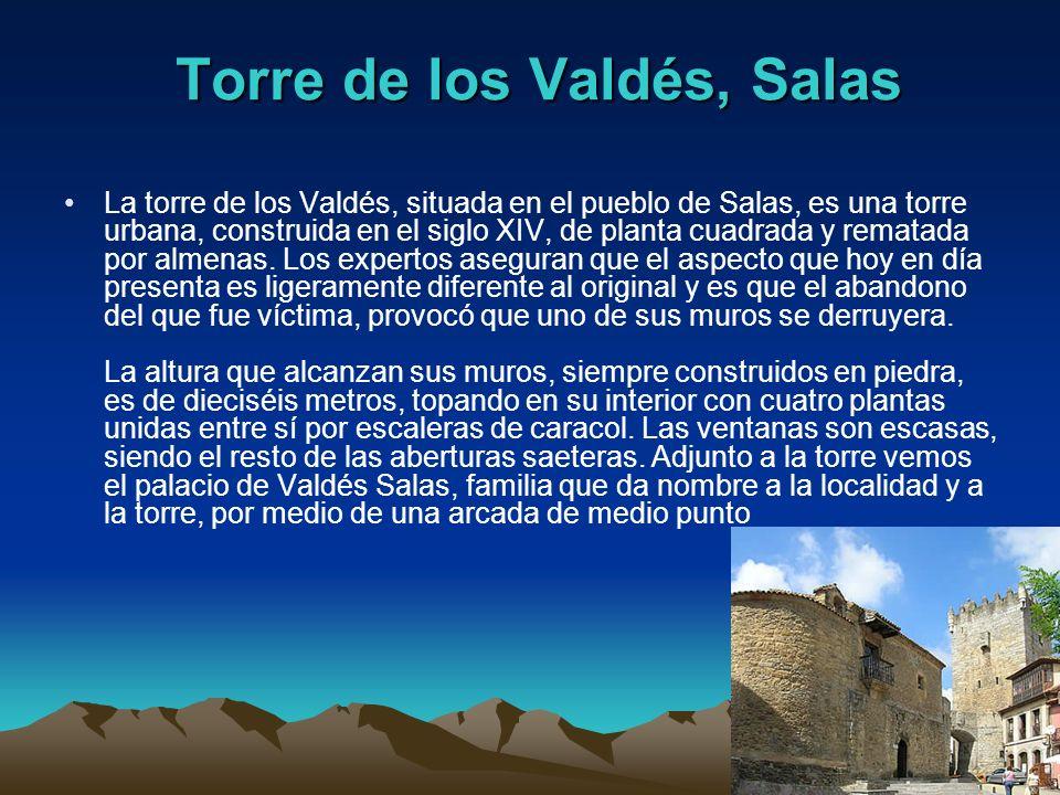 Torre de los Valdés, Salas