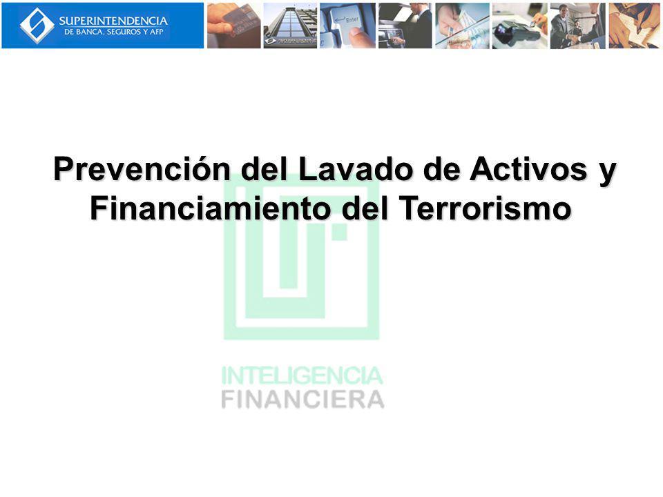 Prevención del Lavado de Activos y Financiamiento del Terrorismo