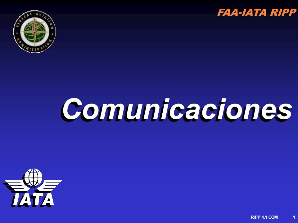 Comunicaciones RIPP 4.1 COM