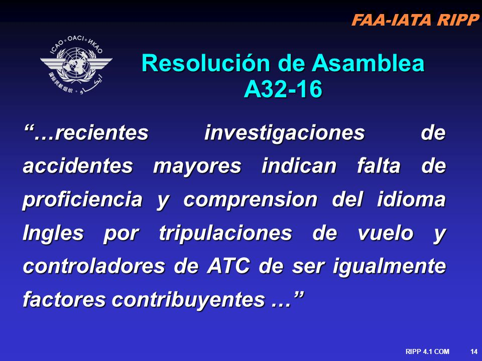 Resolución de Asamblea A32-16