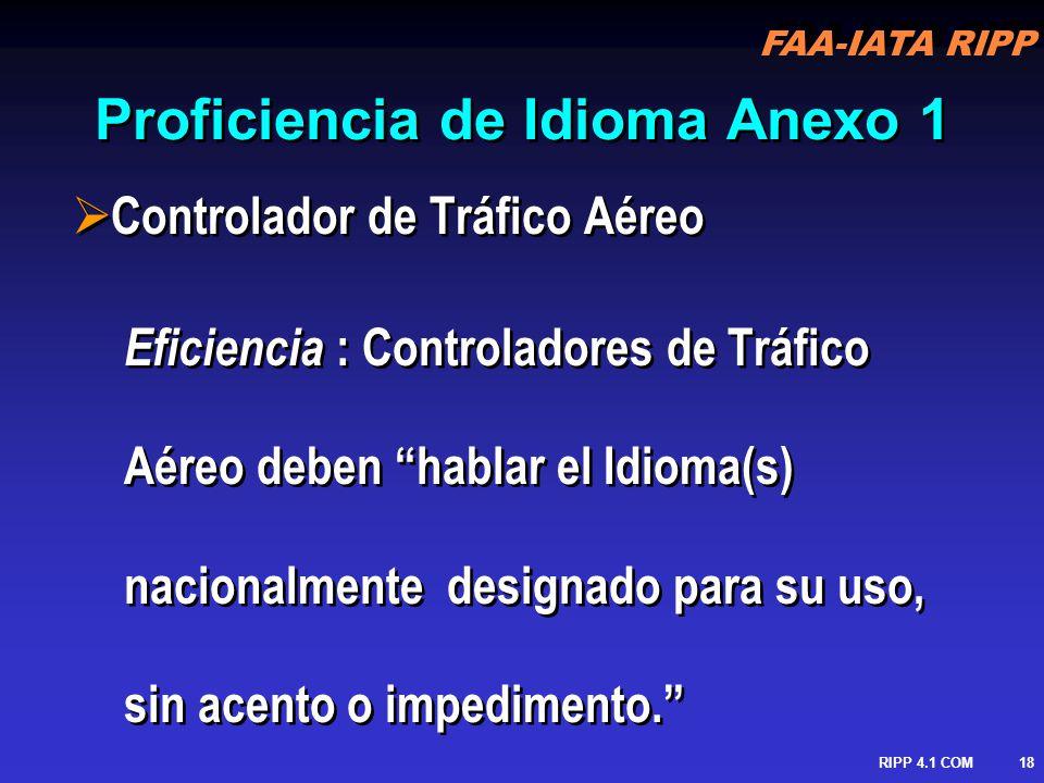 Proficiencia de Idioma Anexo 1