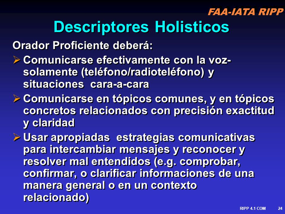 Descriptores Holisticos