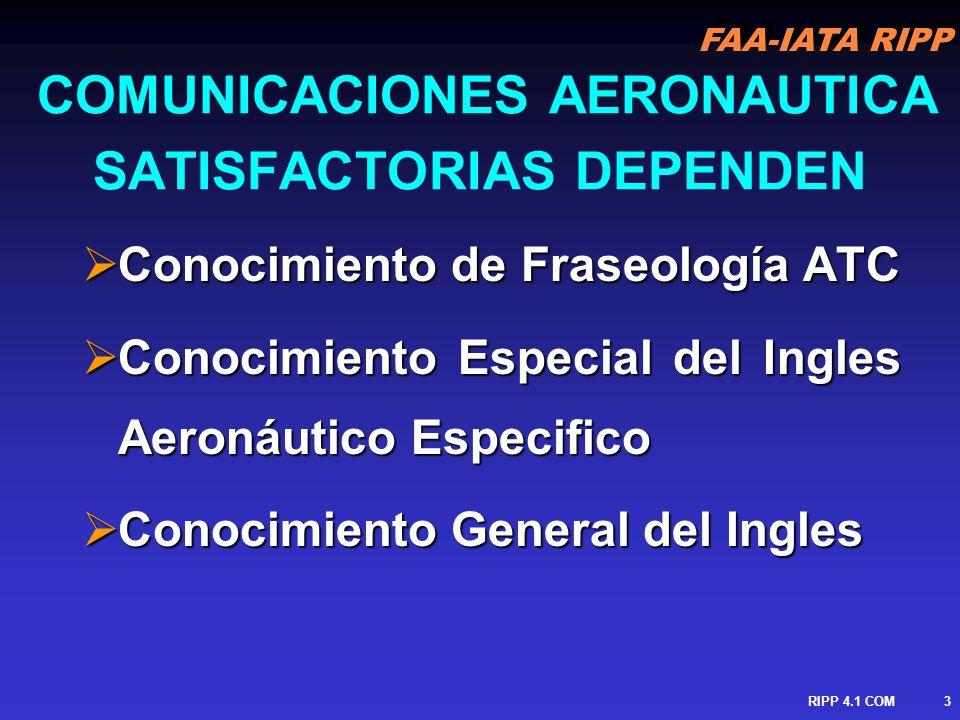 COMUNICACIONES AERONAUTICA SATISFACTORIAS DEPENDEN
