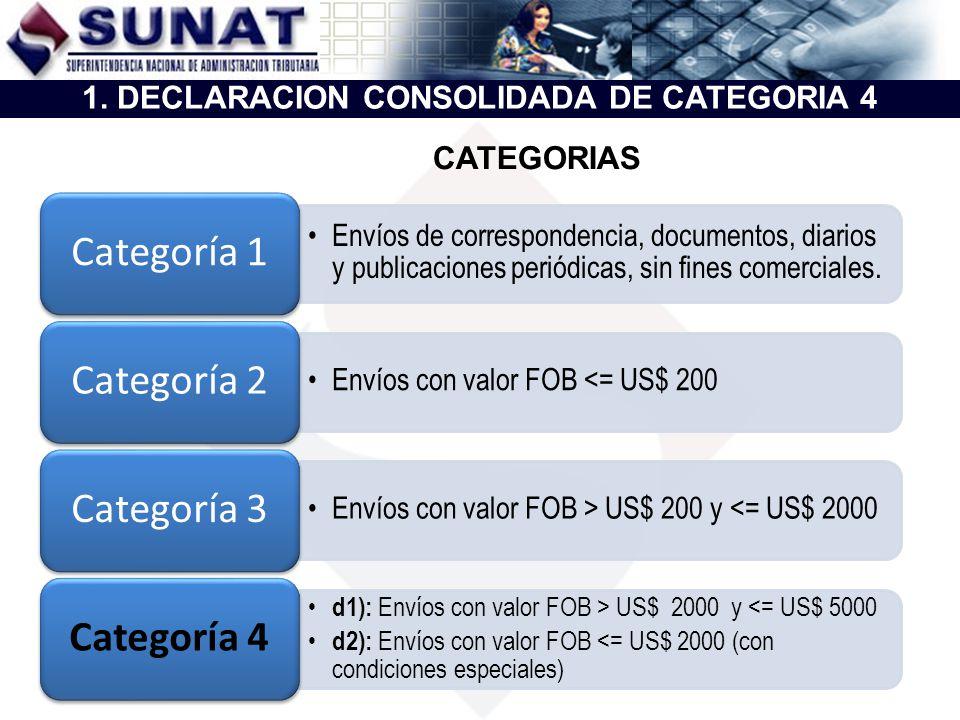 1. DECLARACION CONSOLIDADA DE CATEGORIA 4
