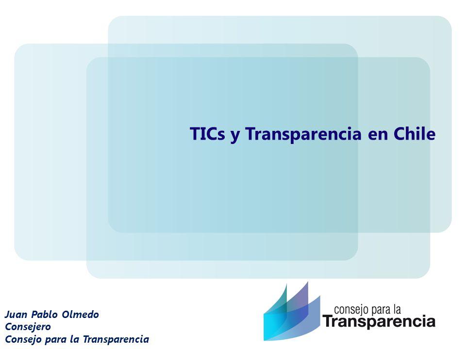 TICs y Transparencia en Chile