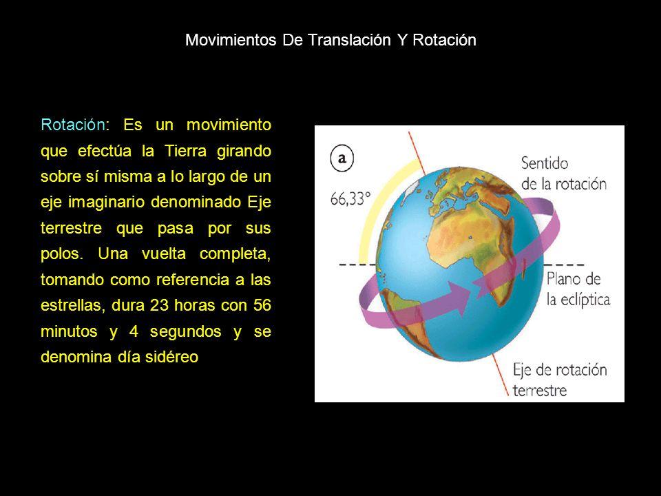 Movimientos De Translación Y Rotación