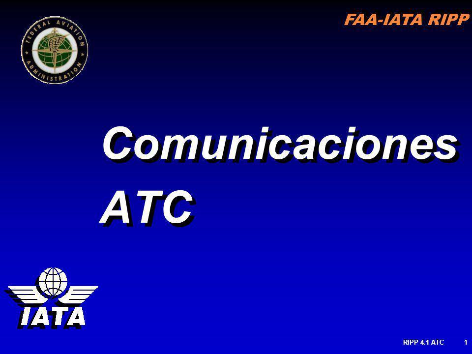 Comunicaciones ATC RIPP 4.1 ATC