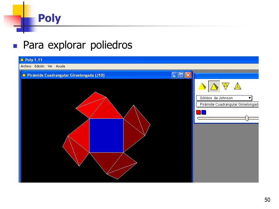 Poly Para explorar poliedros