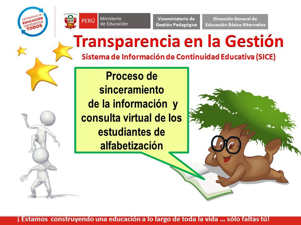 Transparencia en la Gestión
