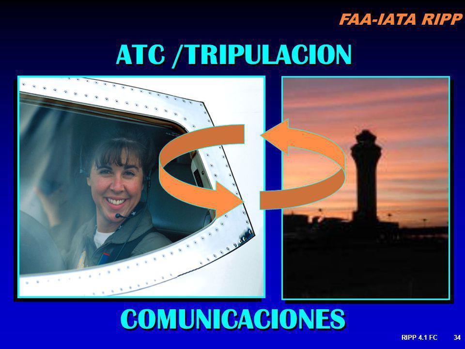 ATC /TRIPULACION COMUNICACIONES