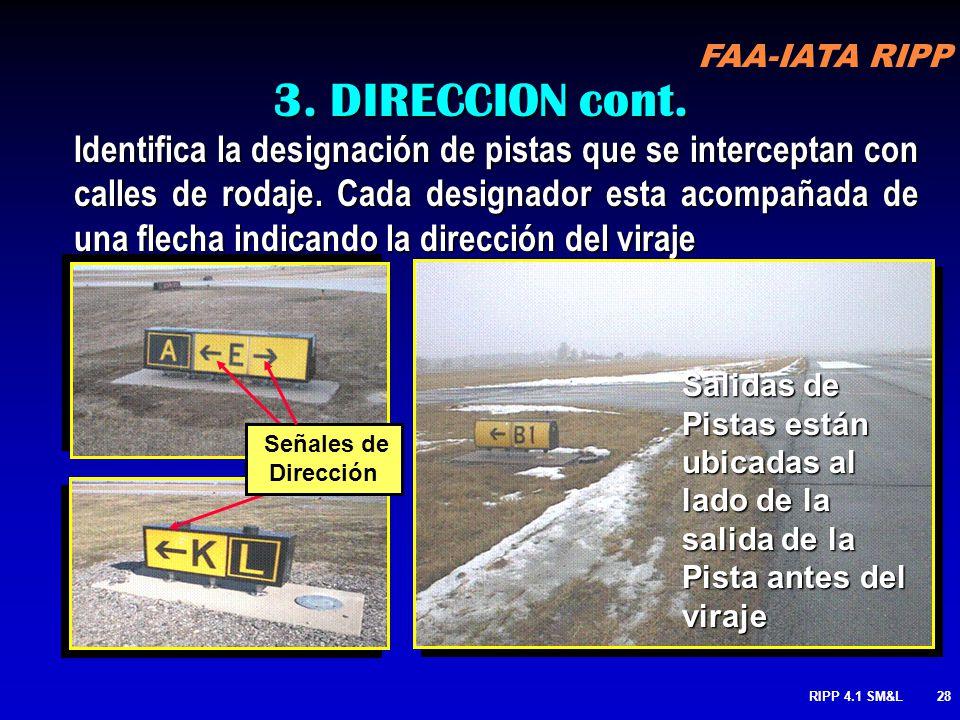 3. DIRECCION cont.