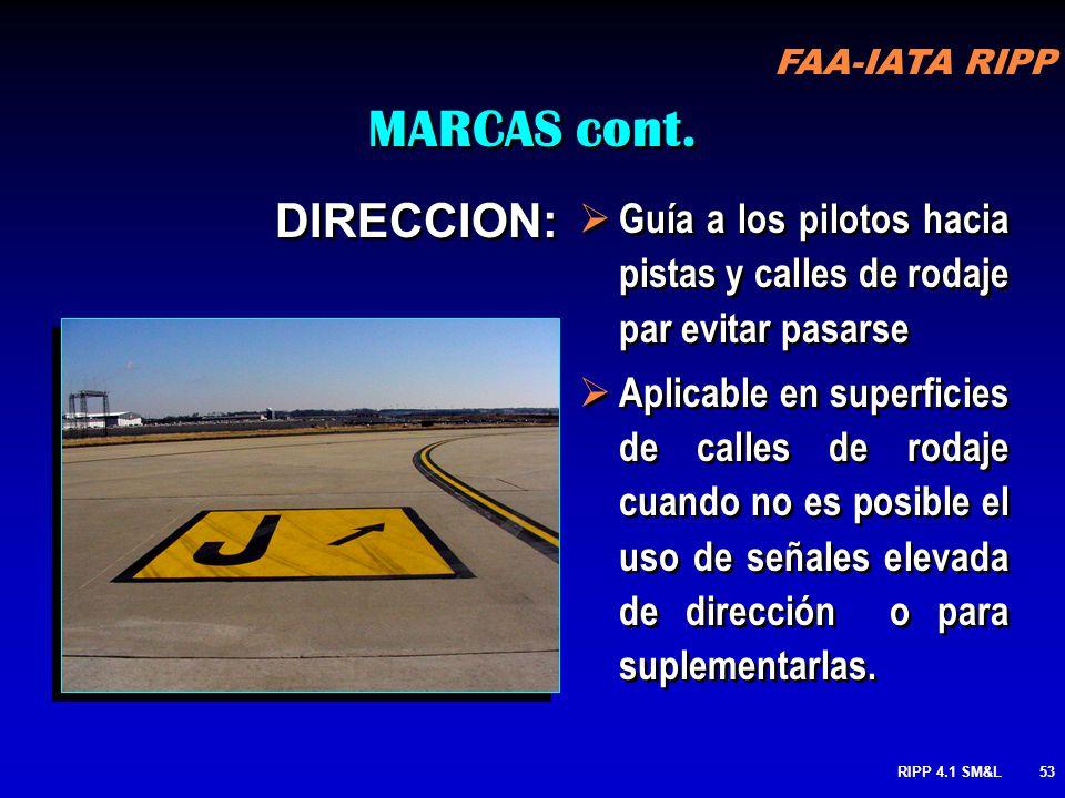 MARCAS cont. DIRECCION: