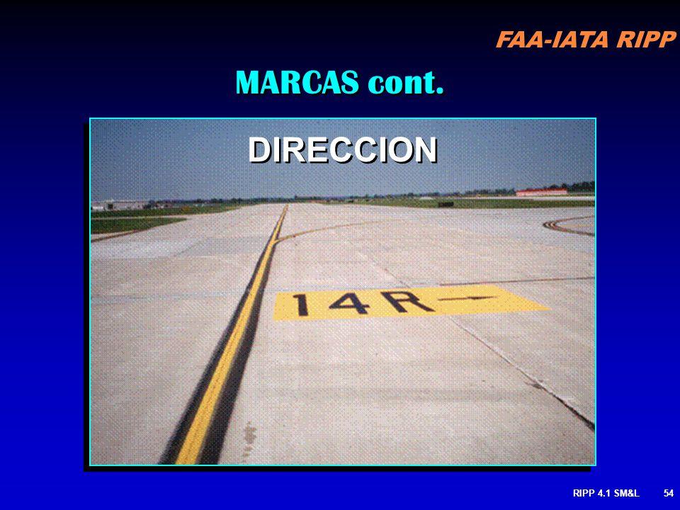 MARCAS cont. DIRECCION RIPP 4.1 SM&L