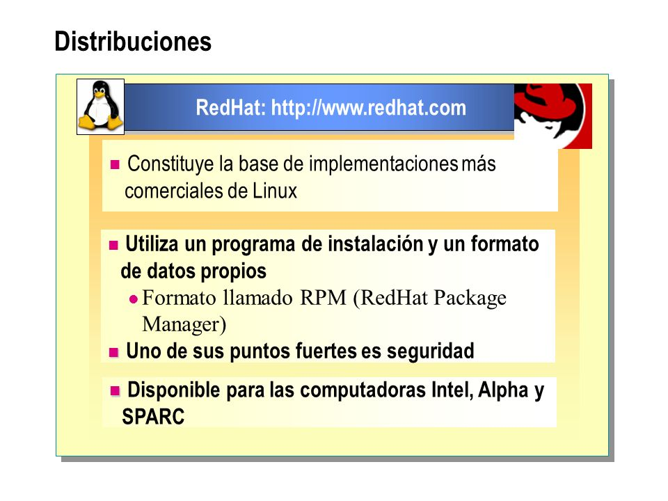 RedHat: http://www.redhat.com