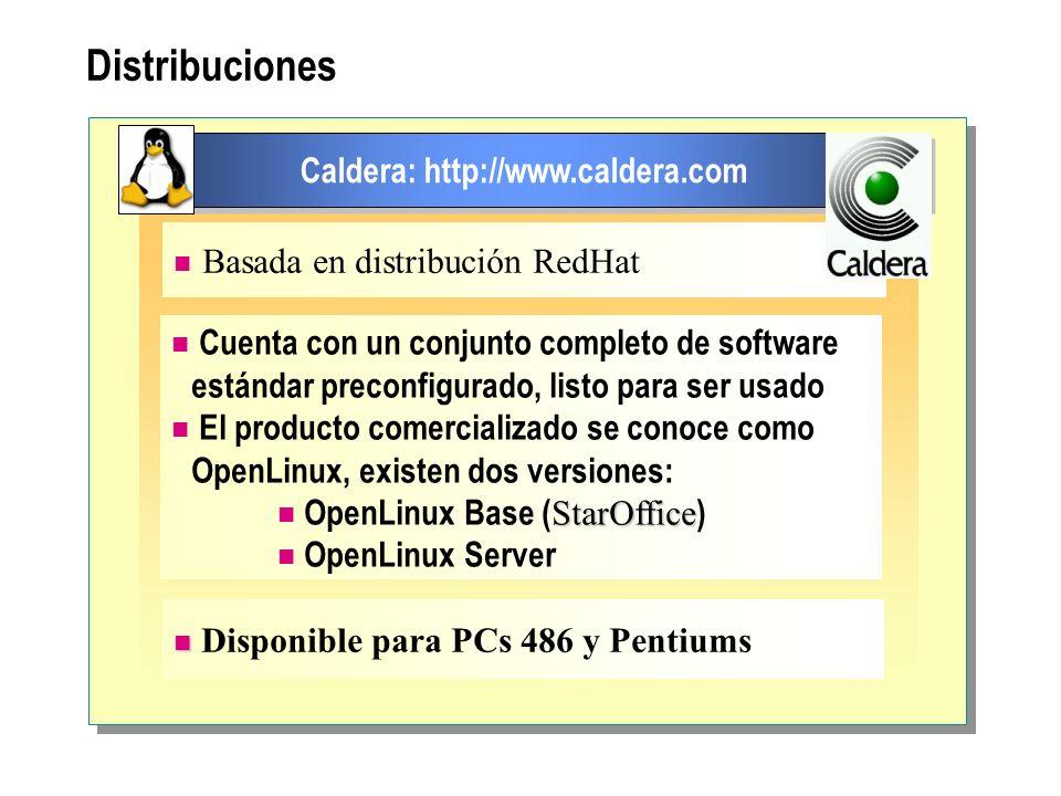 Caldera: http://www.caldera.com