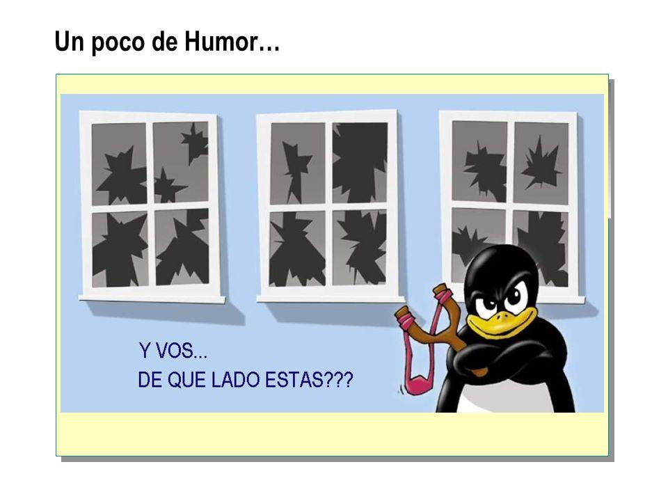 Un poco de Humor…
