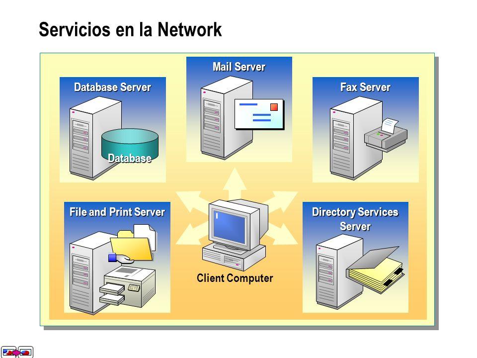 Servicios en la Network