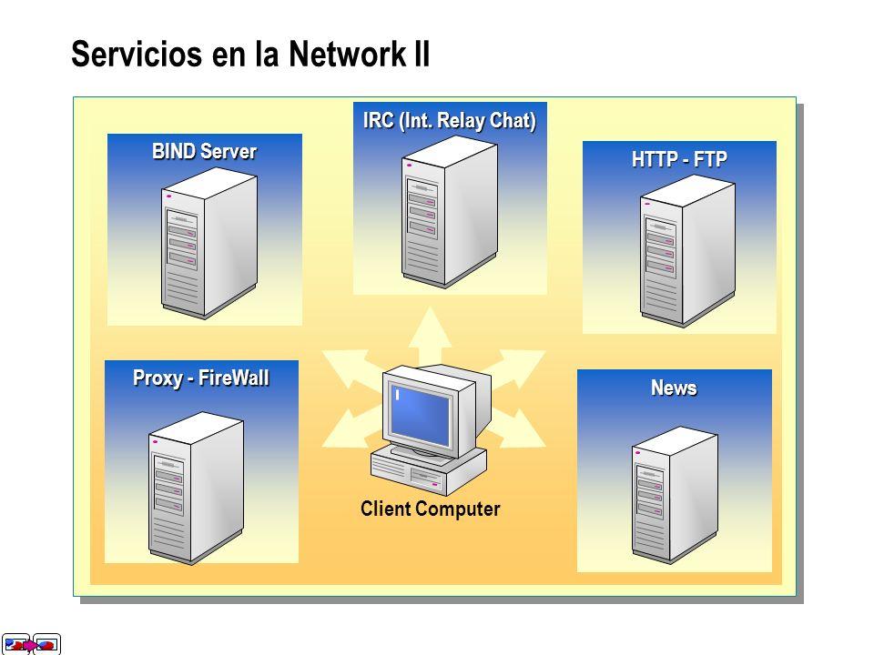 Servicios en la Network II