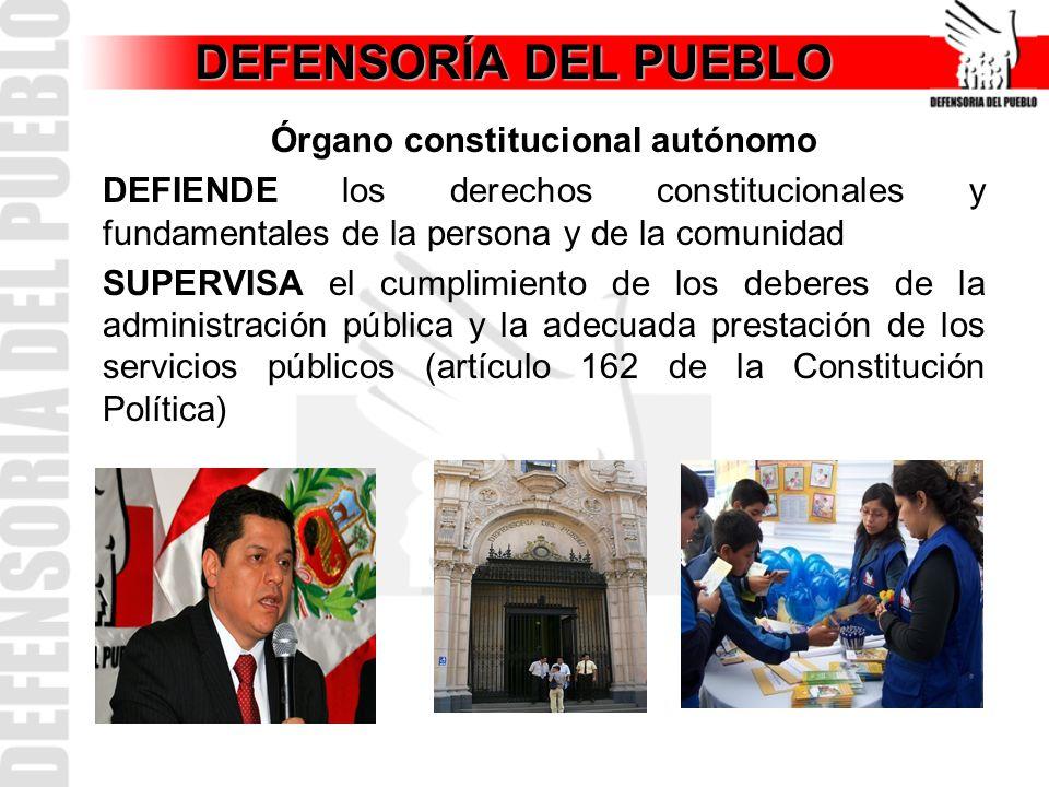 Órgano constitucional autónomo