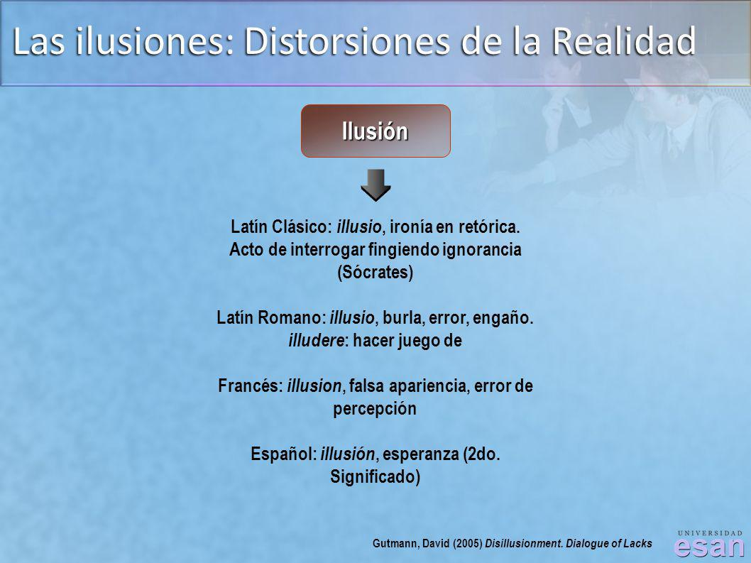 Las ilusiones: Distorsiones de la Realidad
