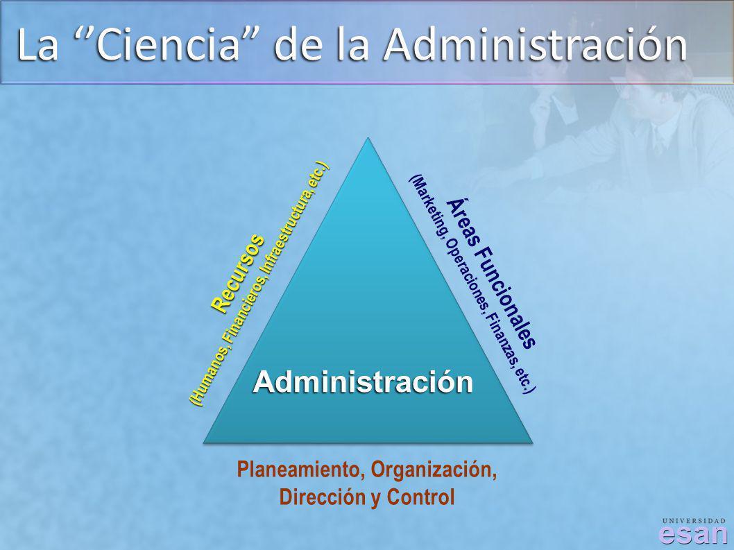 La ''Ciencia de la Administración