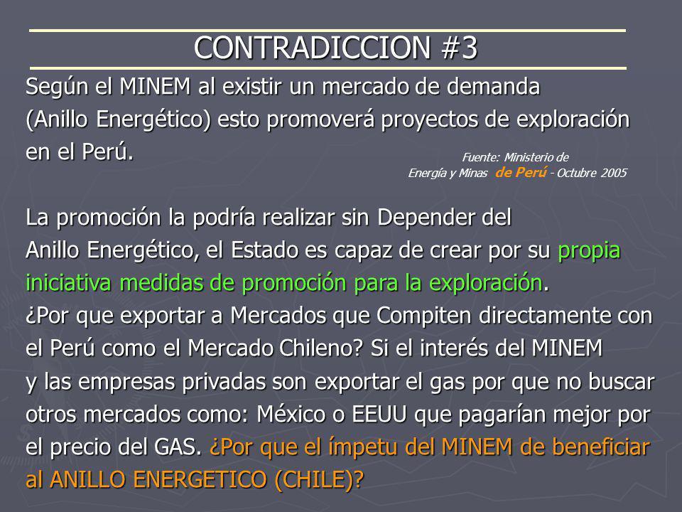 Energía y Minas de Perú - Octubre 2005
