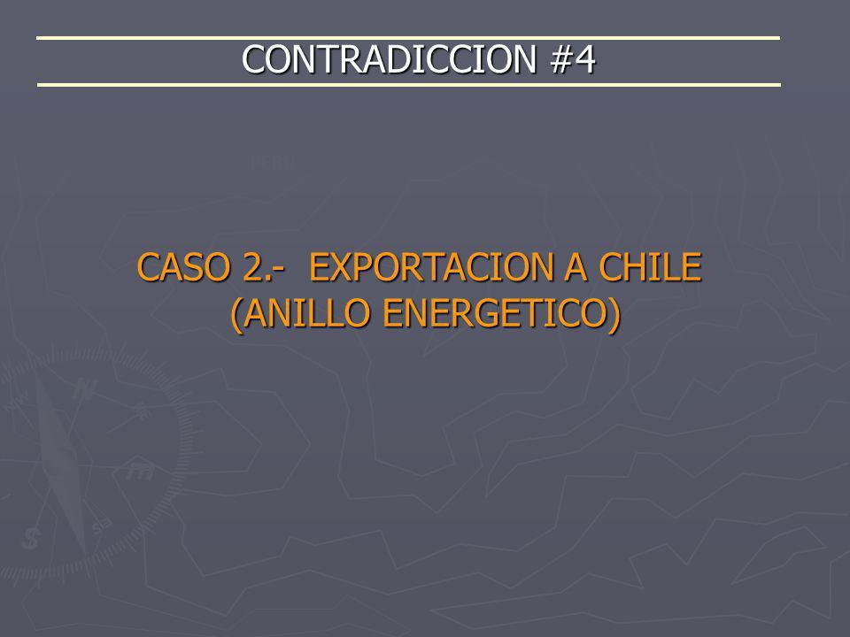 CASO 2.- EXPORTACION A CHILE