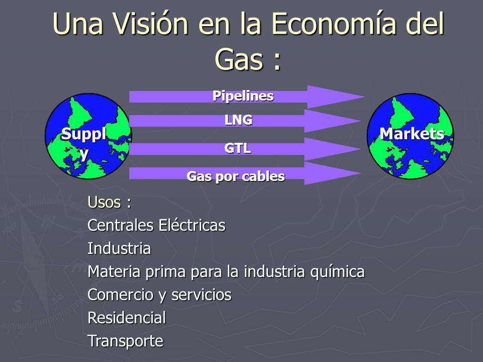 Una Visión en la Economía del Gas :