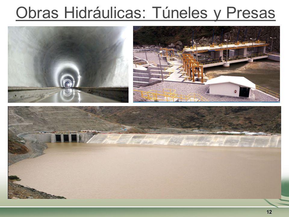 Obras Hidráulicas: Túneles y Presas