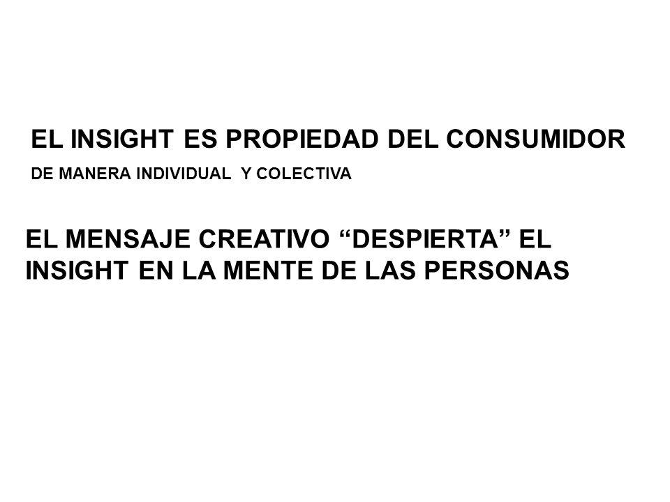EL INSIGHT ES PROPIEDAD DEL CONSUMIDOR