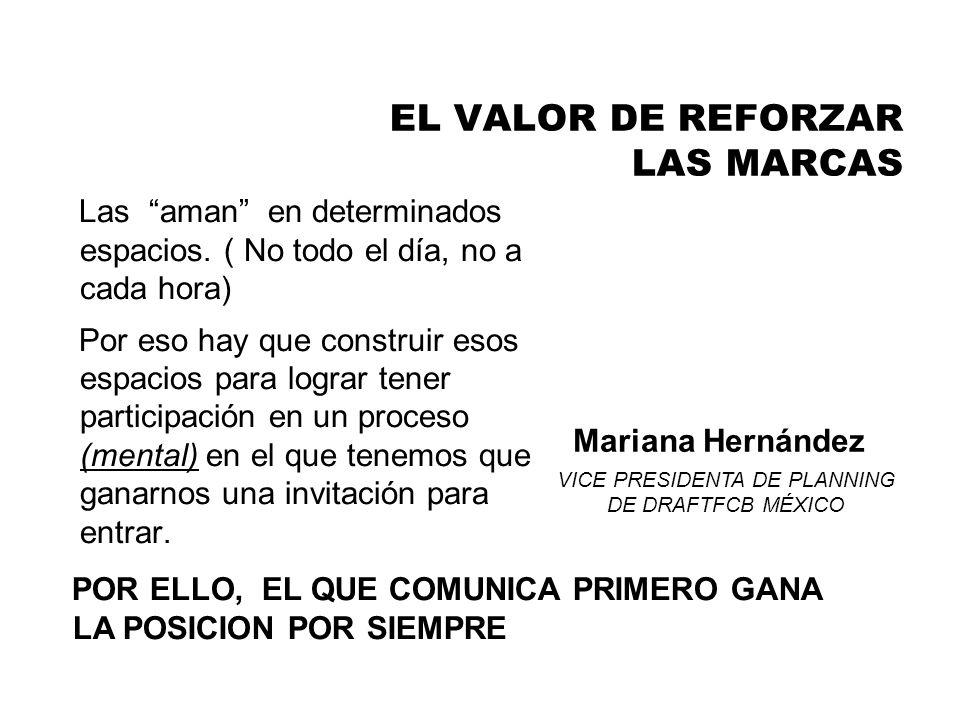 EL VALOR DE REFORZAR LAS MARCAS