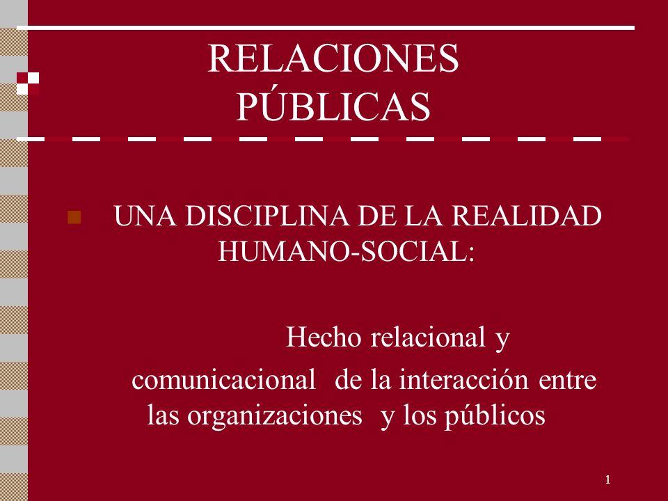 UNA DISCIPLINA DE LA REALIDAD HUMANO-SOCIAL: