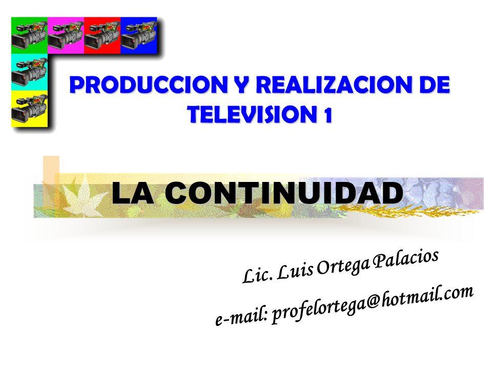 PRODUCCION Y REALIZACION DE TELEVISION 1