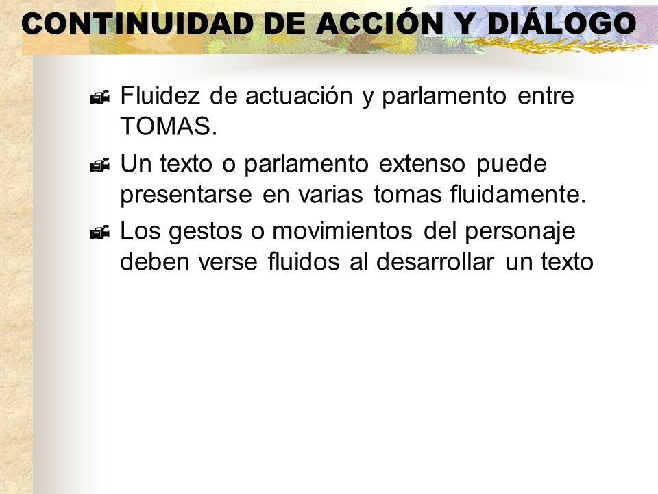 CONTINUIDAD DE ACCIÓN Y DIÁLOGO