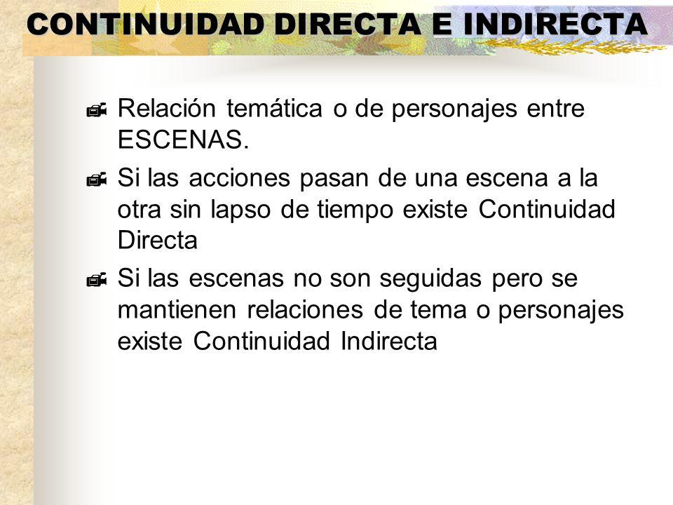 CONTINUIDAD DIRECTA E INDIRECTA