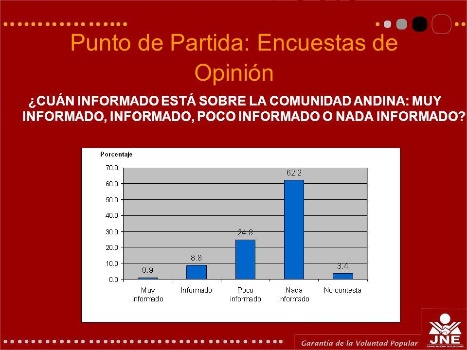 Punto de Partida: Encuestas de Opinión