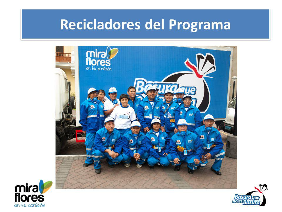 Recicladores del Programa
