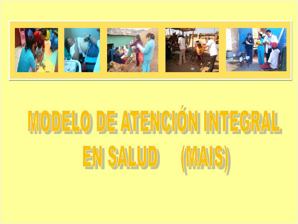 MODELO DE ATENCIÓN INTEGRAL