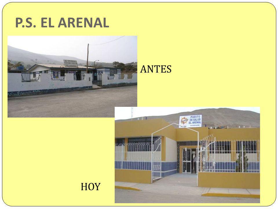 P.S. EL ARENAL ANTES HOY