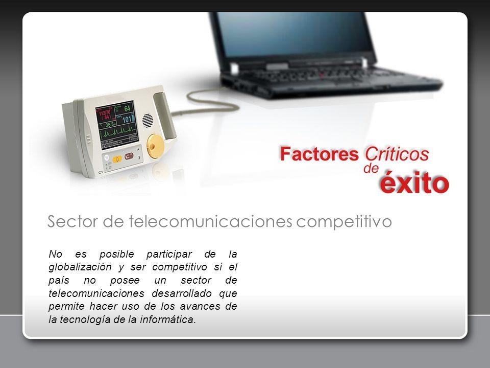 Sector de telecomunicaciones competitivo