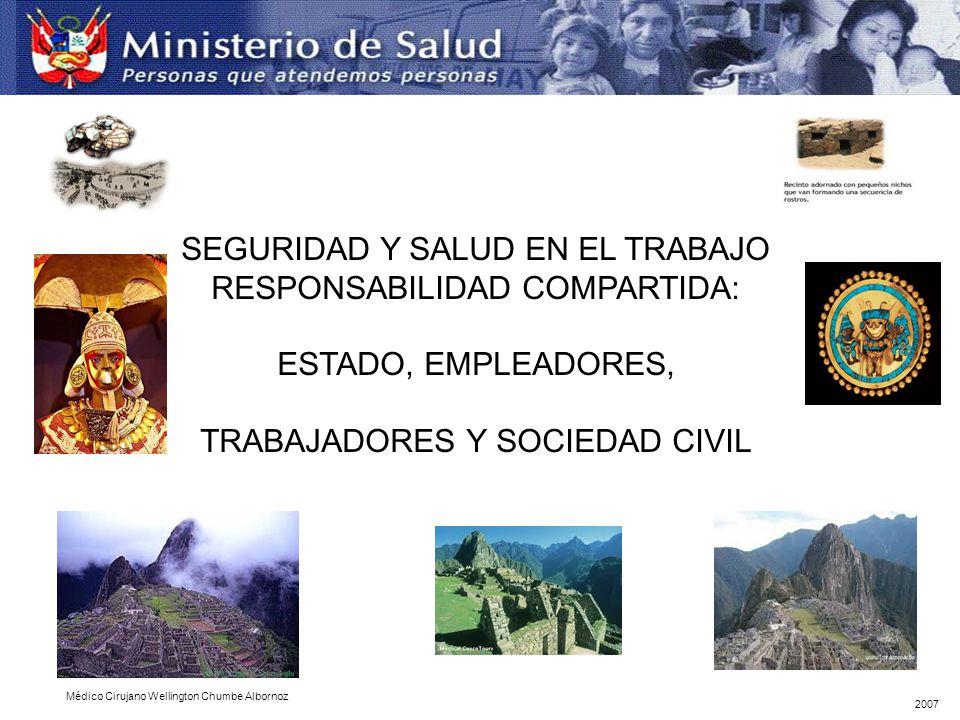 SEGURIDAD Y SALUD EN EL TRABAJO RESPONSABILIDAD COMPARTIDA:
